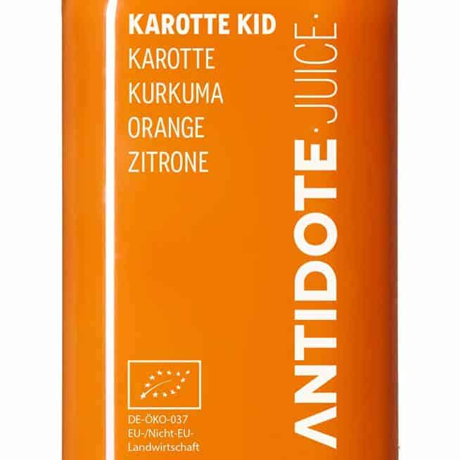 Antidote Juice - Karotte Kid Zutaten