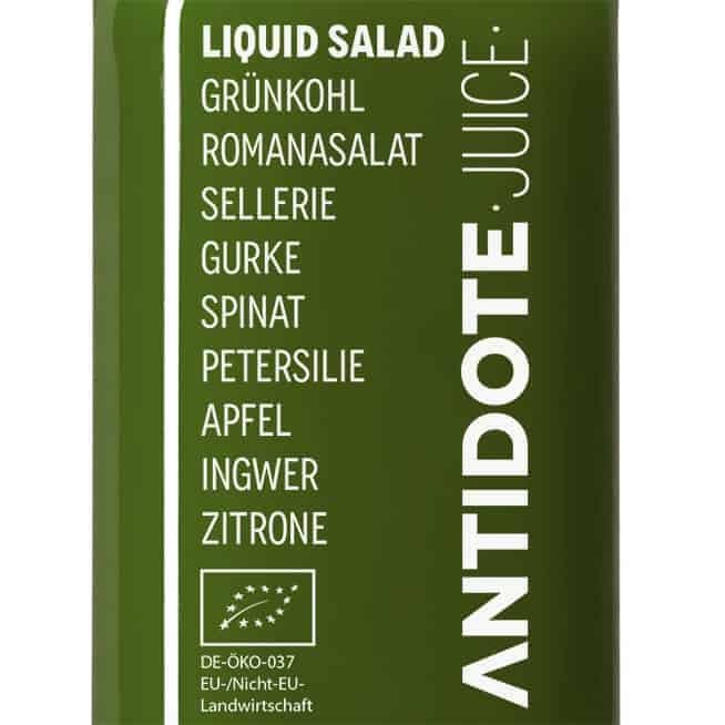 01 Antidote Juice Liquid Salad Zutaten