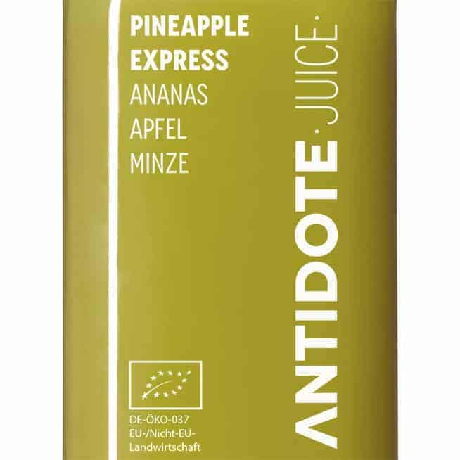 02 Antidote Juice Pineapple Express Zutaten
