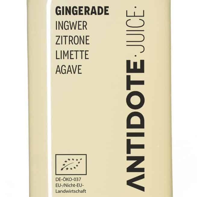 04 Antidote Juice Gingerade Zutaten