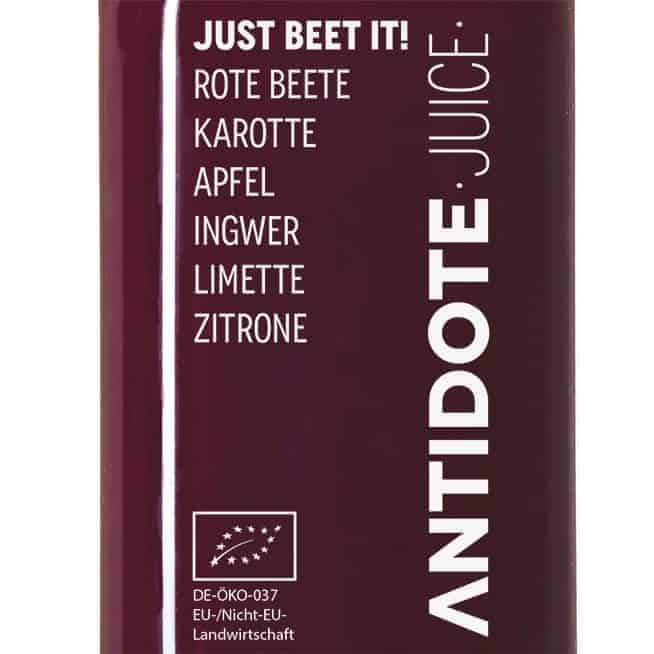05 Antidote Juice Just beet it! Zutaten