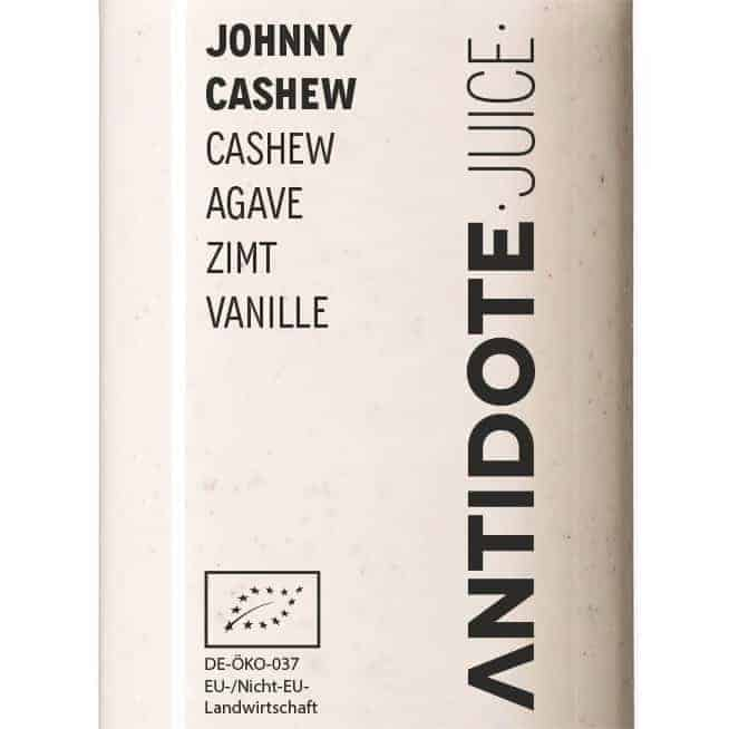 06 Antidote Juice Johnny Cashew Zutaten