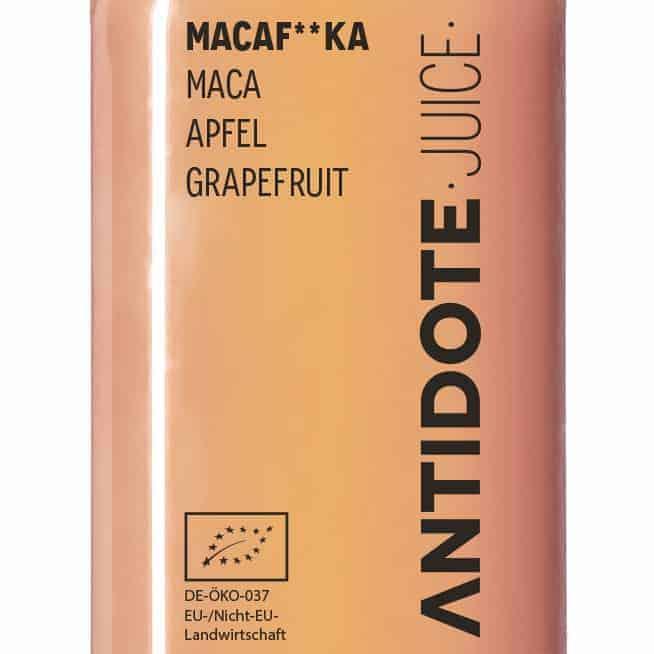 09 Antidote Juice Macaf**ka Zutaten