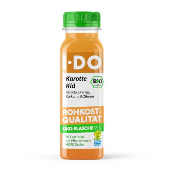 I·DO Bio Saft Karotte Kid, Karottensaft von vorne