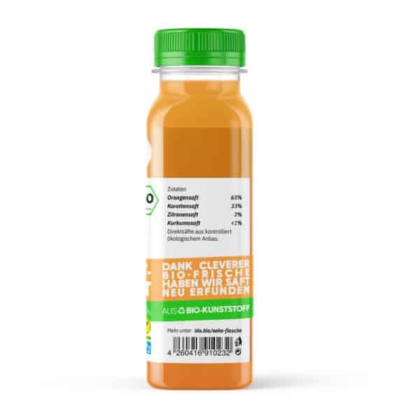 I·DO Bio Saft Karotte Kid, Karottensaft von der Seite
