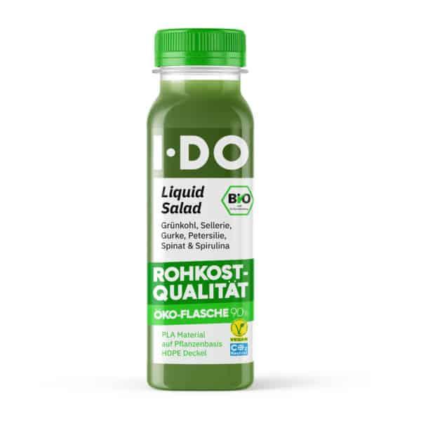 I·DO Bio Saft Liquid Salad, green Juice von vorne