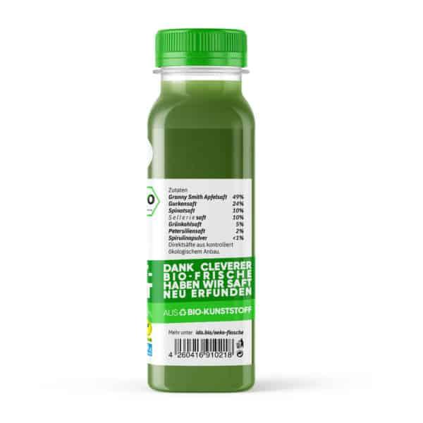 I·DO Bio Saft Liquid Salad, green Juice von der Seite