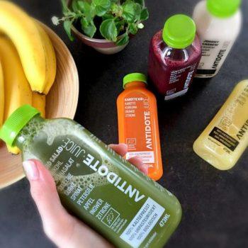 Trink doch einfach deinen Salat. Mit Antidote Juice Bio Liquid Salad.