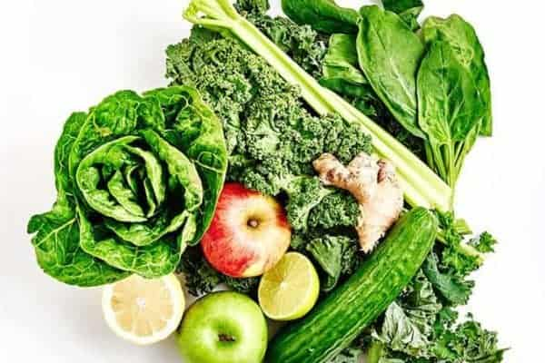 Gesunde und unverarbeitete Ernährung