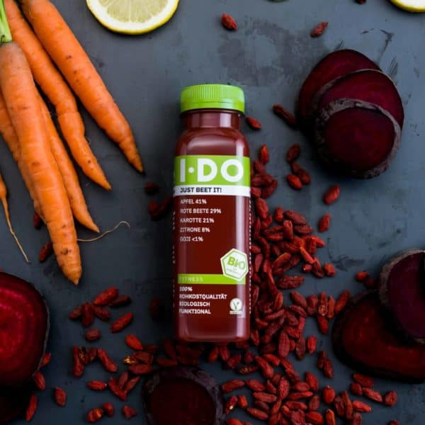 IDO Just Beet It! Bio-Direktsaftmischung im alten Design