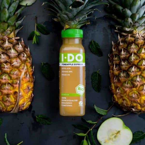 IDO Pineapple Express Bio-Direktsaftmischung im alten Design