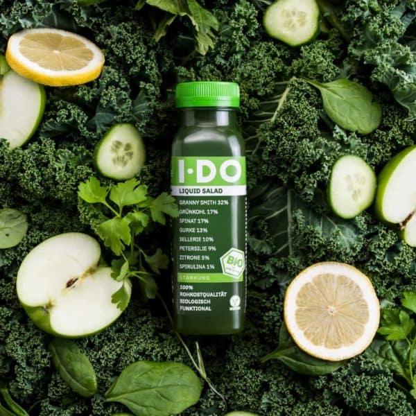 IDO Liquid Salad Bio-Direktsaftmischung im alten Design