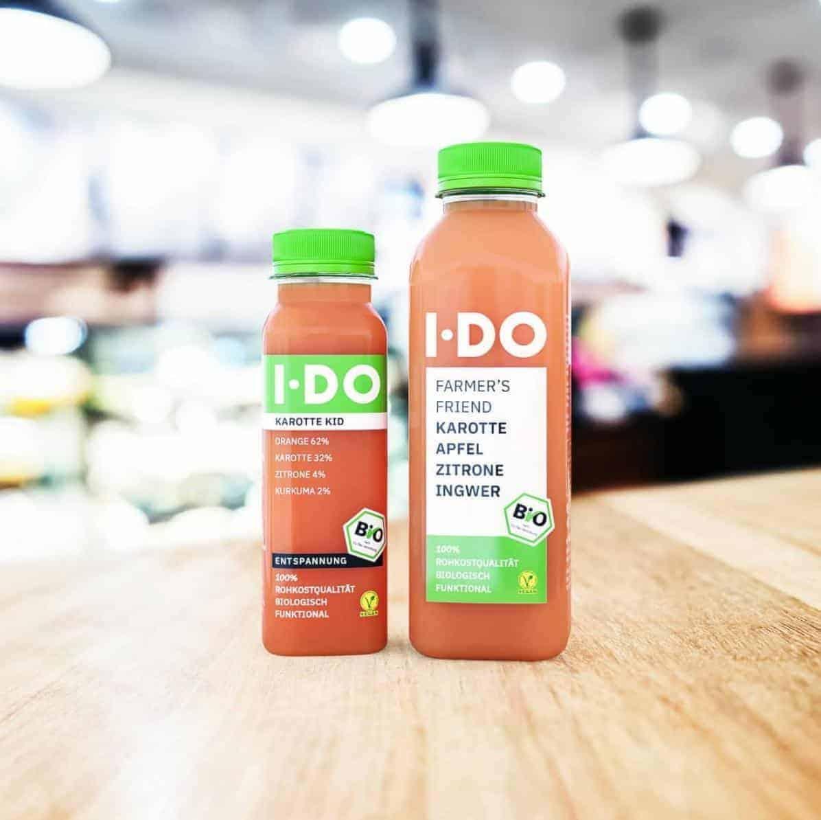 IDO Farmers Friend und Karotte Kid sind ein möhriges Dream-Team! Bio Karottensaft mit Sinn in 250 und 500 ml