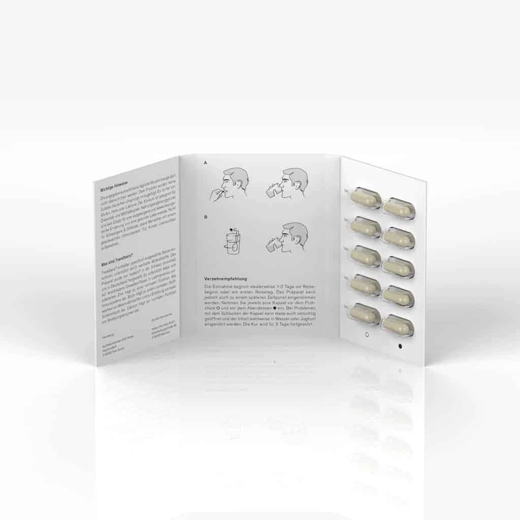 mybacs dailybacs kommen in einem praktischen Briefchen mit jeweils 10 Kapseln