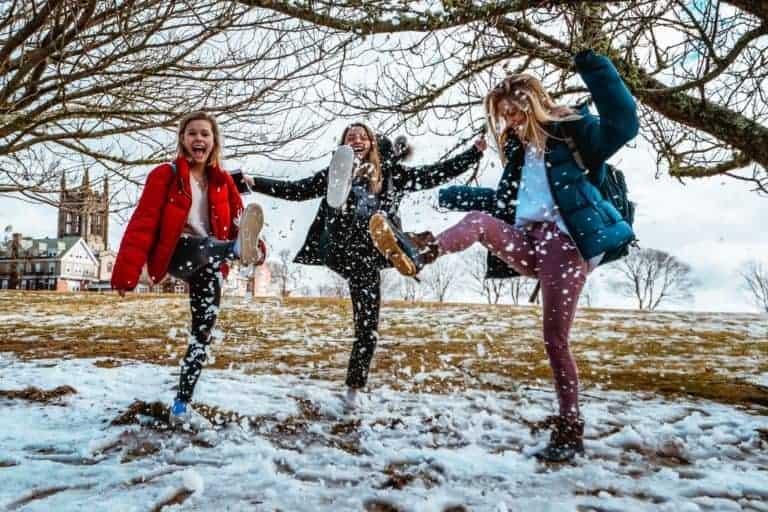 Spaß im Winter