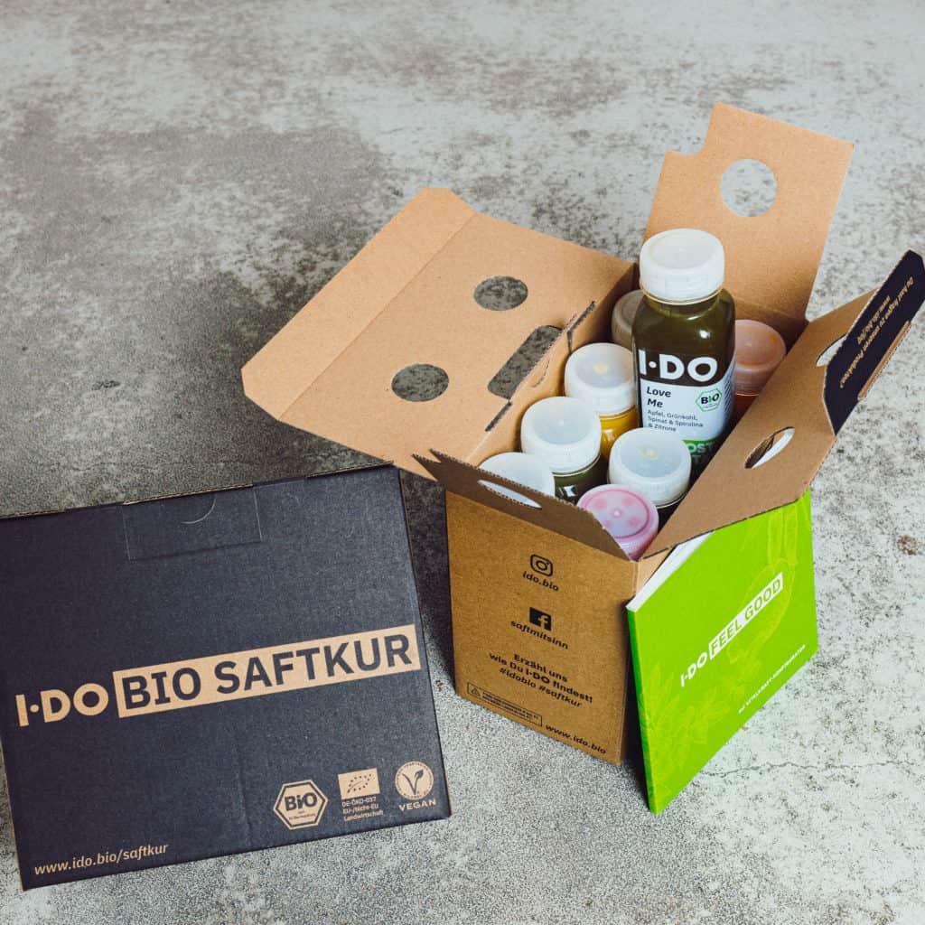 I·DO Biosaftkur im Paket