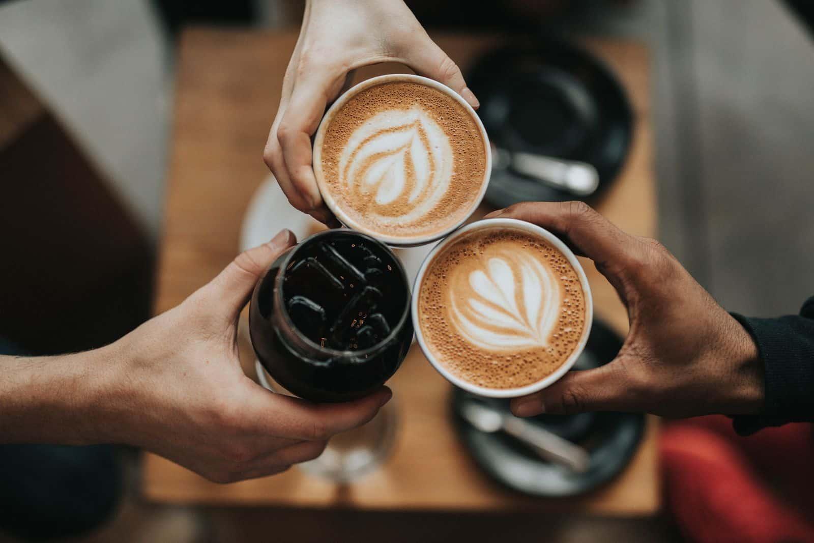 prost mit kaffee