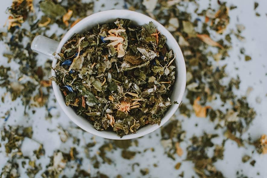 Tee ist ein idealer Begleiter während der Saftkur