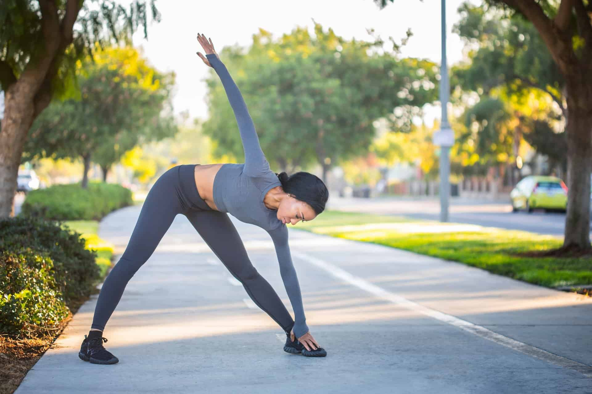 Dreieck Yoga