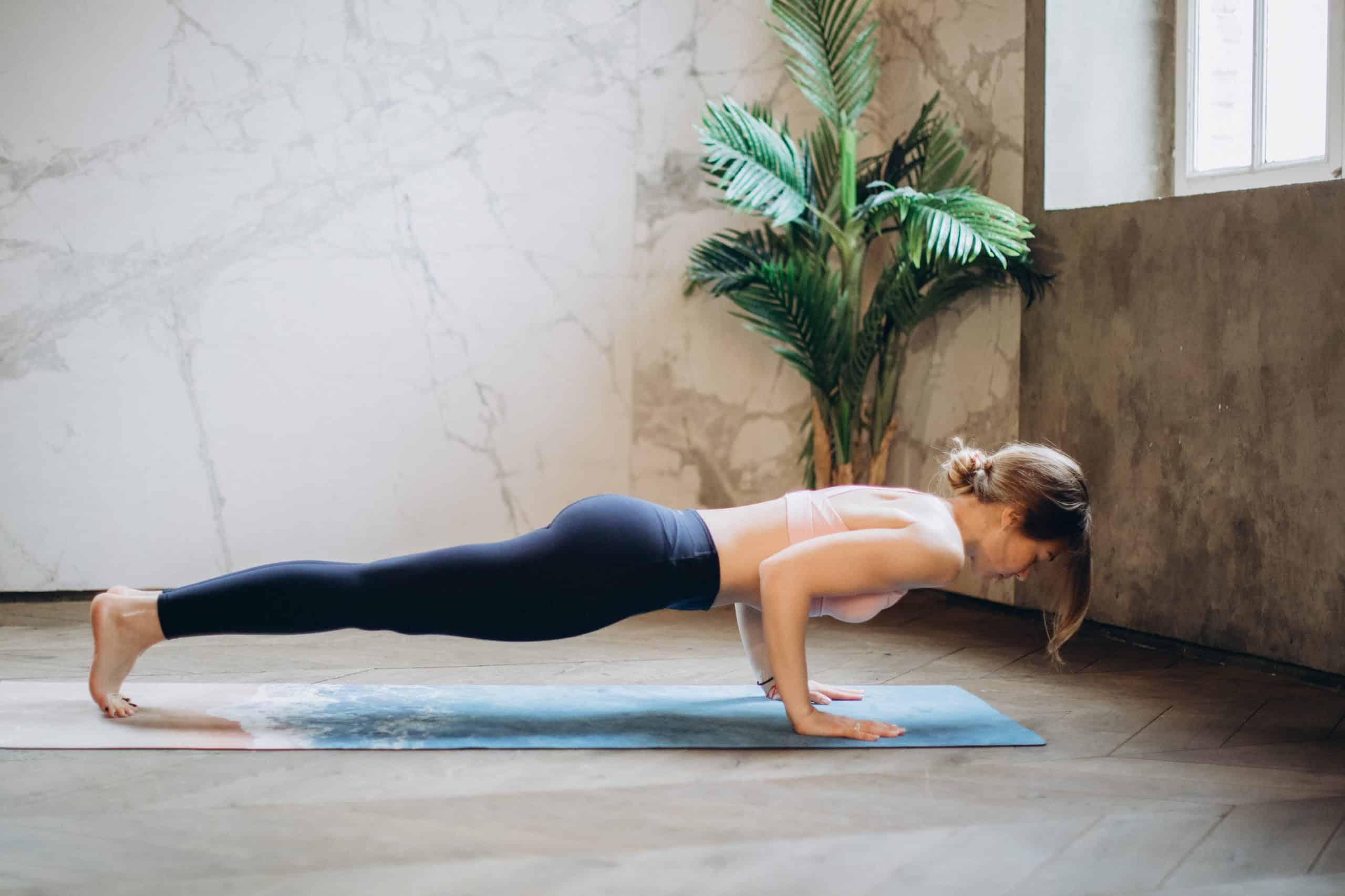 Yoga Übungen für daheim