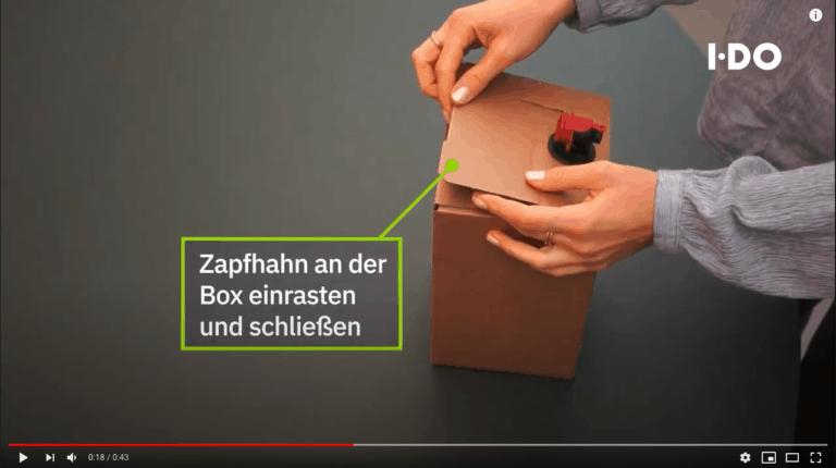 Selleriesaft Box Video