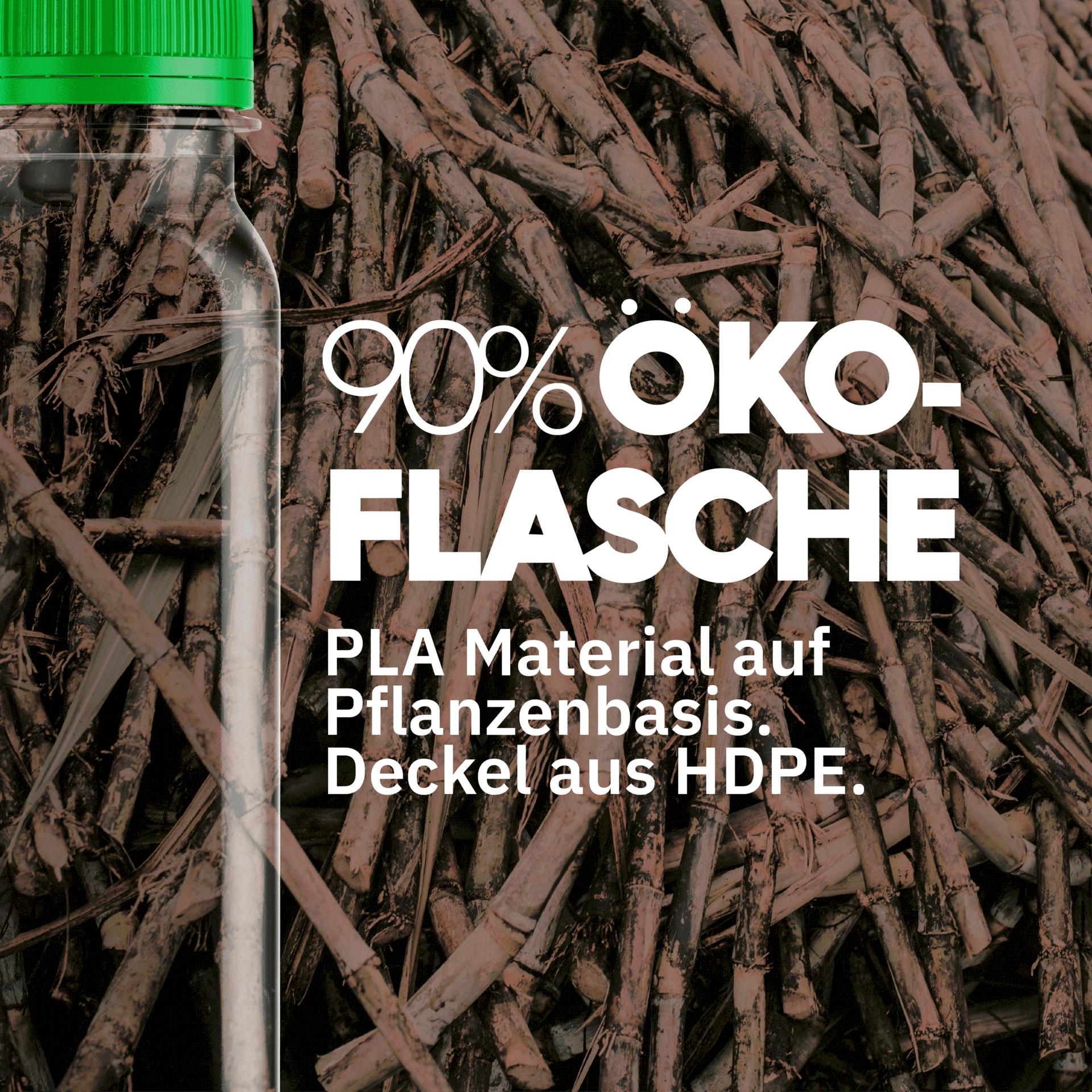Öko-PLA-Flasche 90% Tile